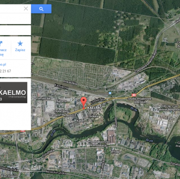 Usługa Moja Firma daje m.in widoczność na mapach Google