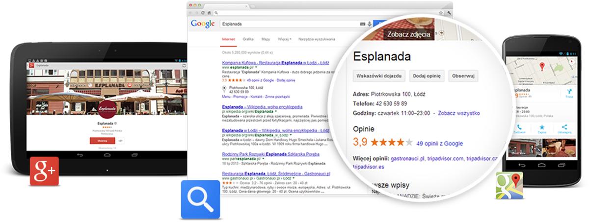 Z Google Moja Firma będziesz widoczny na lokalnym rynku