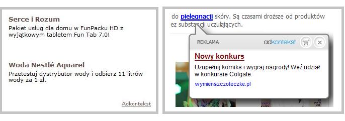 Reklamy tekstowe Adkontekst