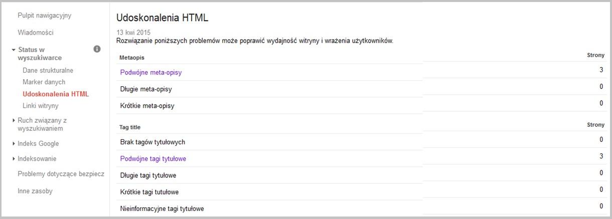 Narzędzia na webmasterów - udoskonalenia html