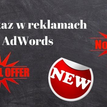 Przekaz reklamowy AdWords