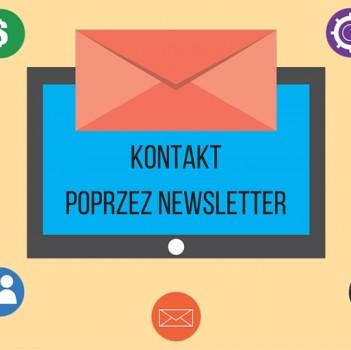 Kontakt z klientem poprzez newsletter