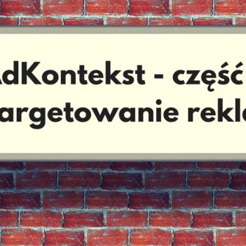 Targetowanie reklam w sieci AdKontekst