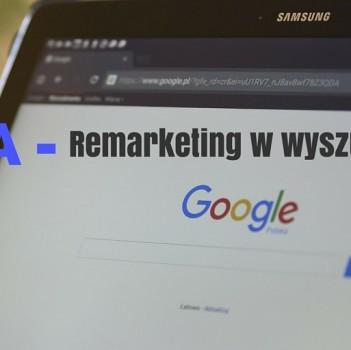 RLSA - remarketing w wyszukiwarce